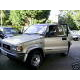 Gold Isuzu trooper